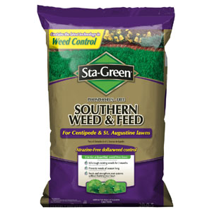 sta green southern weed and feed